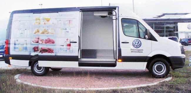 VW Crafter 2.0 TDI с хладилна трансформация от Фригос