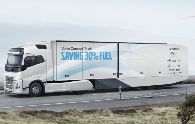 Volvo Concept Truck пести до 30% гориво