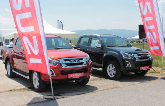 Isuzu разширява присъствието си на българския пазар
