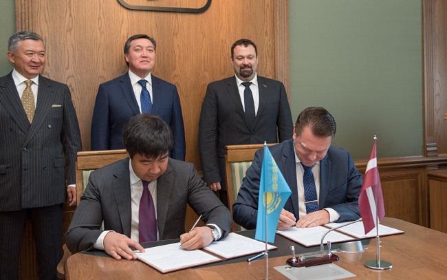 Латвия става главен хъб за казахстанското карго