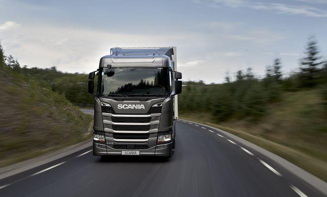 Scania представи газов двигател
