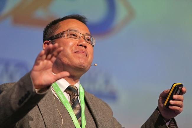 Проф. Уонг Хао на Логистичната бизнес конференция (видео)