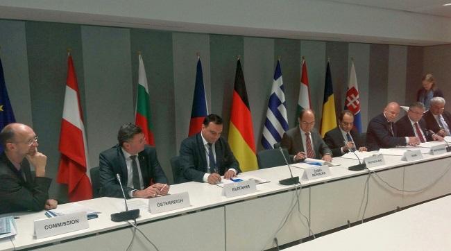 8 държави подписаха за коридор Ориент/Източно-Средиземноморски