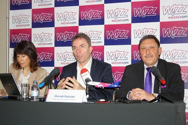Wizz Air с 47% ръст на пътниците от и за България