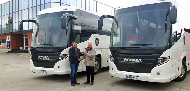 Два нови Scania Touring за Бохемия ЕООД