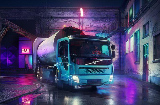 Volvo Trucks представи втория си е-камион