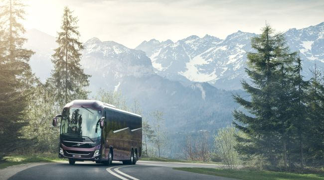 Volvo обнови гамата си туристически автобуси