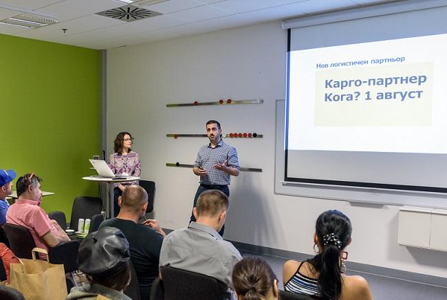 карго-партнер поема логистиката на ИКЕА