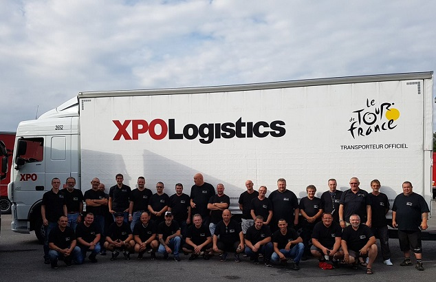 XPO Logistics се грижи за логистиката на Tour de France