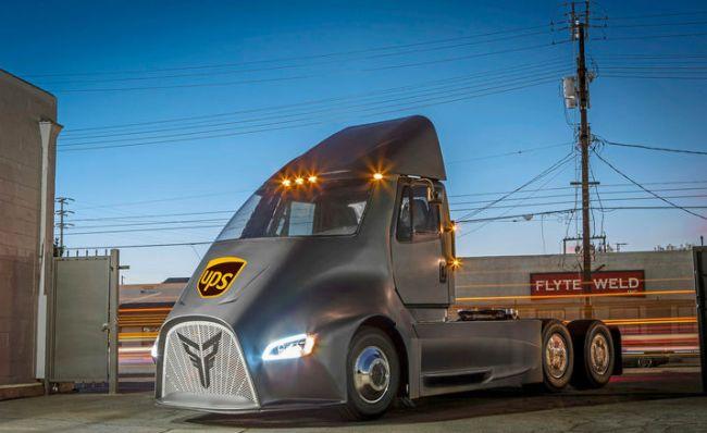 UPS ще тества камиона Thor ET-One