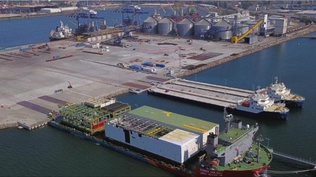 БМФ Порт Бургас изгради нова логистична база
