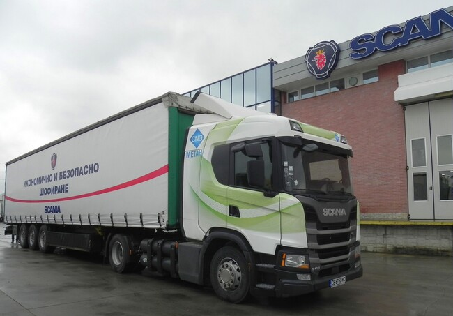Тест: Scania G 410 CNG Next Generation