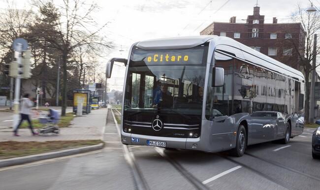 Първи тестове на електрическия Mercedes-Benz eCitaro