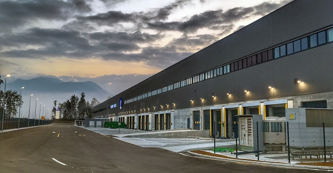 K + N откри глобален разпределителен център в Словения