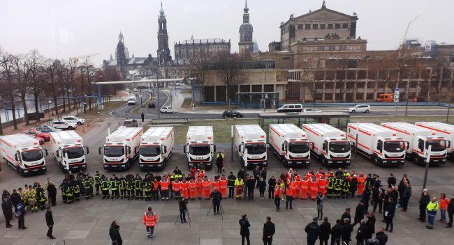 33 Iveco Eurocargo за гражданската защита в Саксония