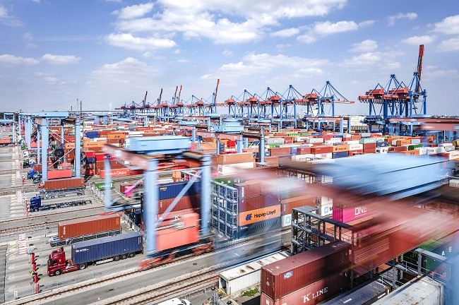 Японски потенциал за пристанище Хамбург