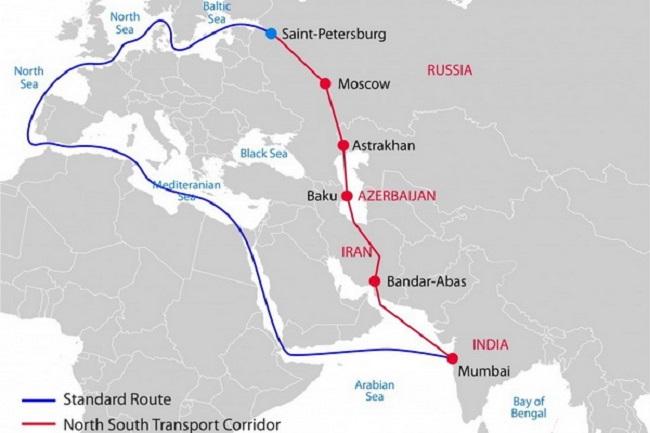 Русия и Индия ще развиват интермодалния коридор Север - Юг