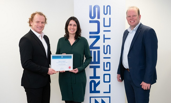 Rhenus със сертификат IATA-CEIV Pharma