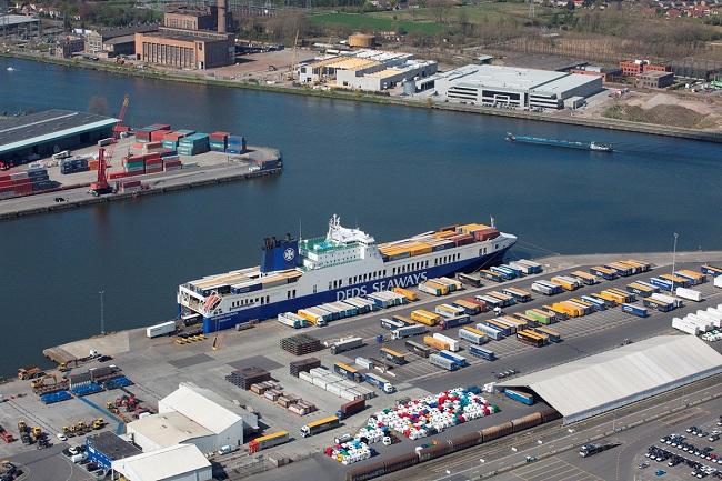 Пристанище Гент свързва Южна Европа със Скандинавия