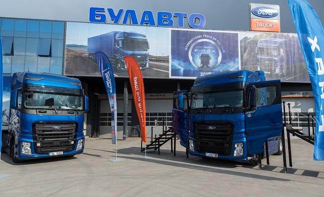 F-MAX на FORD TRUCKS потегли за Европа от България (Видео)