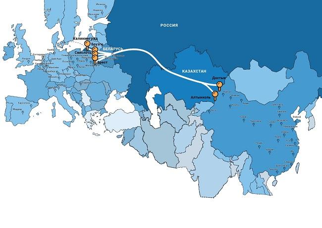 UTLC ERA и Литовските железници съвместно ще превозват пратки