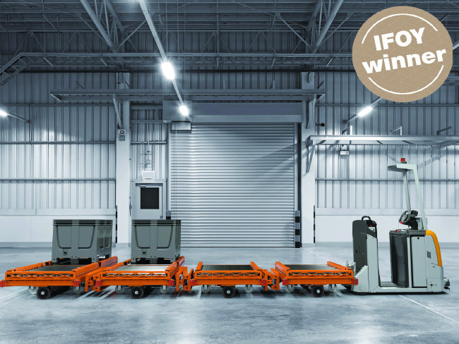 IFOY: Пълна автоматизация в категория AGV & Интралогистични роботи
