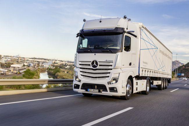 Новият Actros - камион като S класа