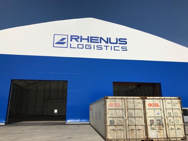 Rhenus изгради база в пристанище Кремс