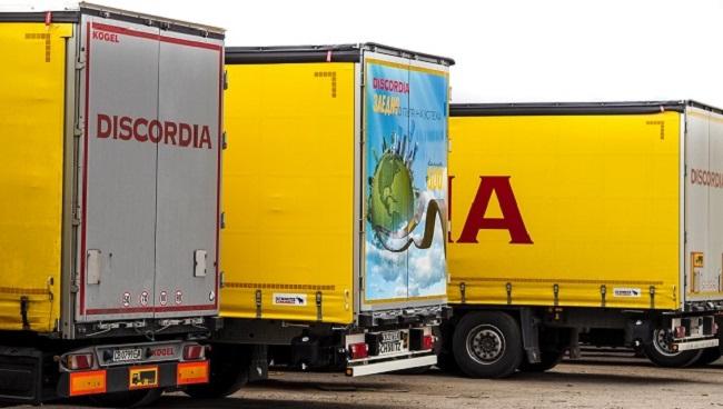 Флотилията на Дискордиа достигна 600 камиона