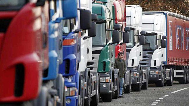 Товарните превози намаляват през първото тримесечие