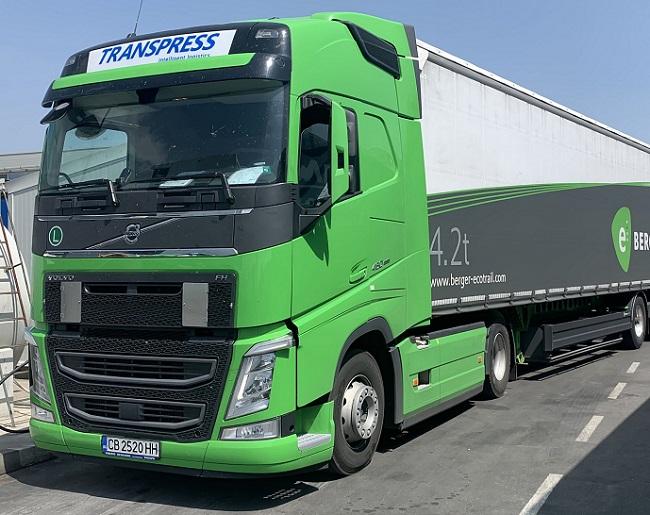 "Супер ""зелени"" композиции на Транспрес свалят разхода на гориво"