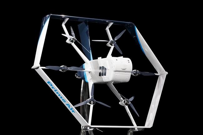 Amazon с нов хибриден дрон