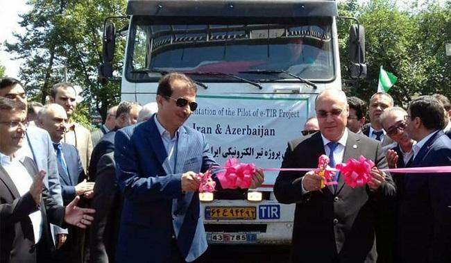 Стартира eTIR между Иран и Азербайджан