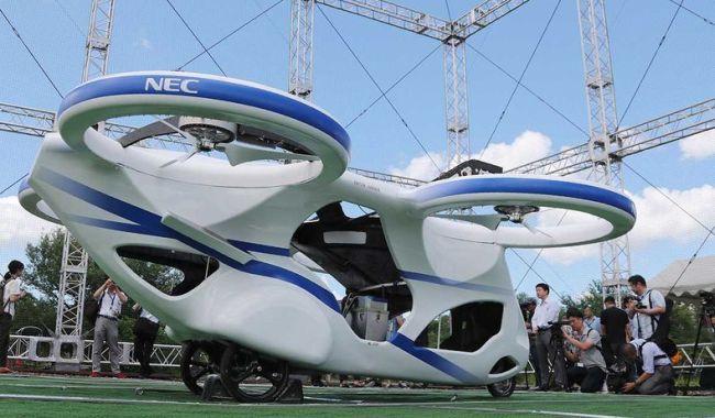 NEC представи летящ автомобил