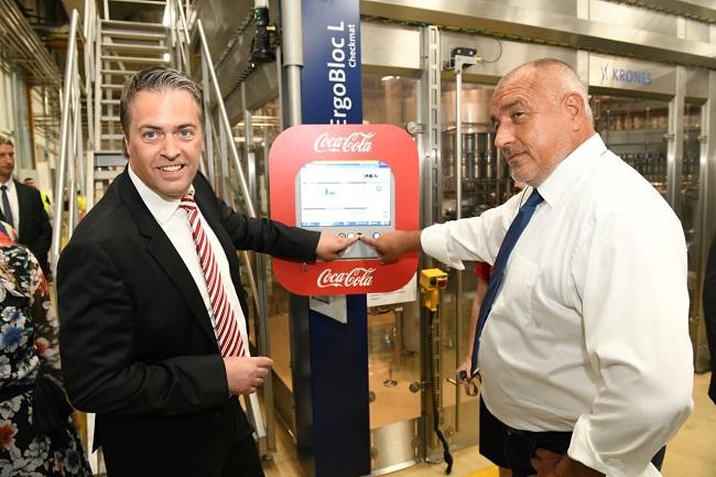 Кока-Кола ХБК разширява завода си в Костинброд