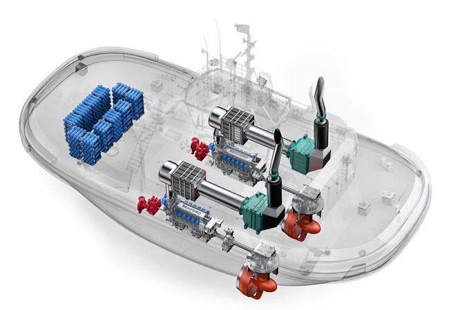 Разработват корабен влекач, захранван с водород