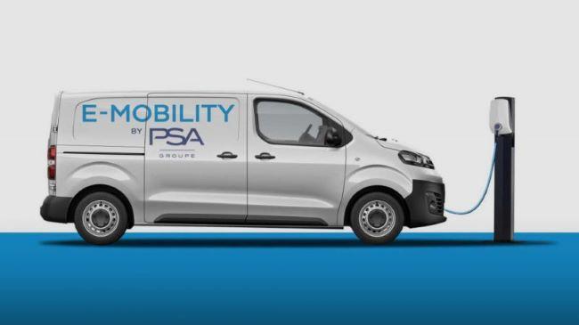 PSA Group пуска електрическа гама ванове през 2020-а