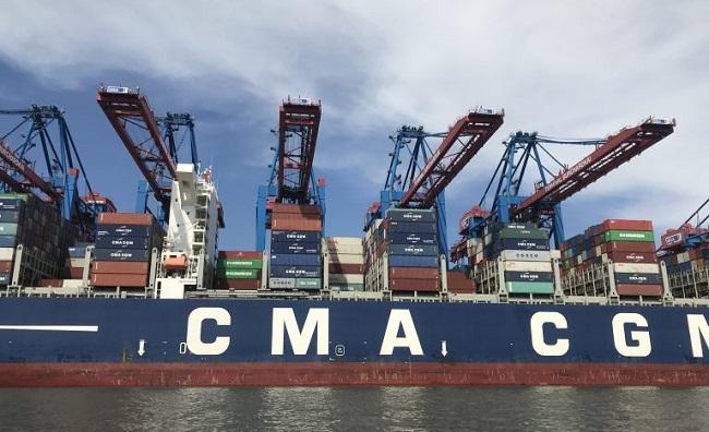 CMA CGM прехвърля 10 терминала