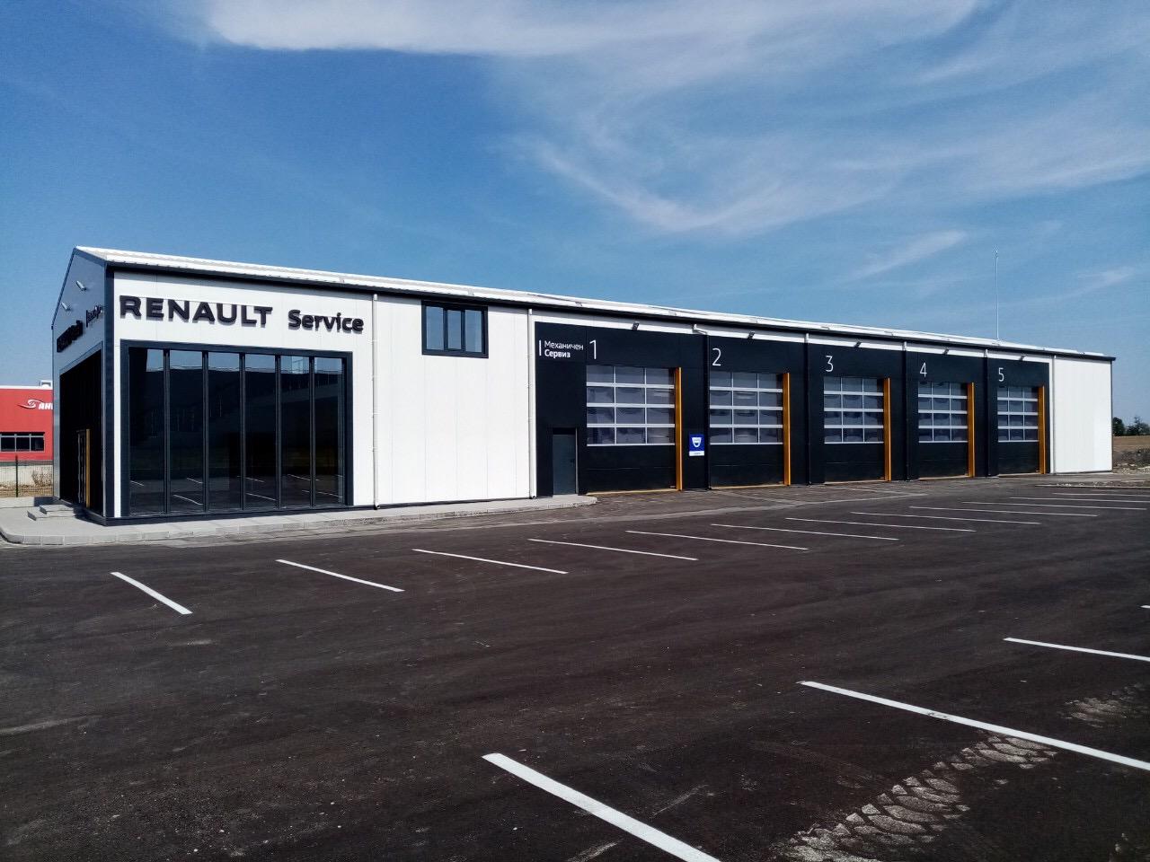 Renault и Dacia с най-голямата търговска мрежа в България