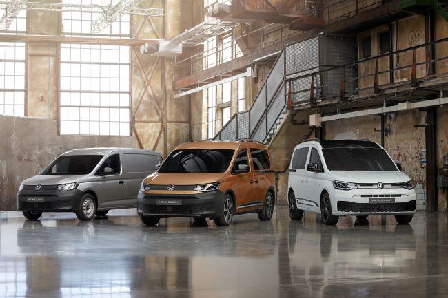Световна премиера на новия Volkswagen Caddy