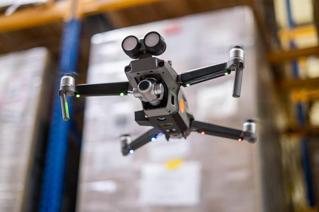 inventAIRy X - инвентаризация с дрон и AGV