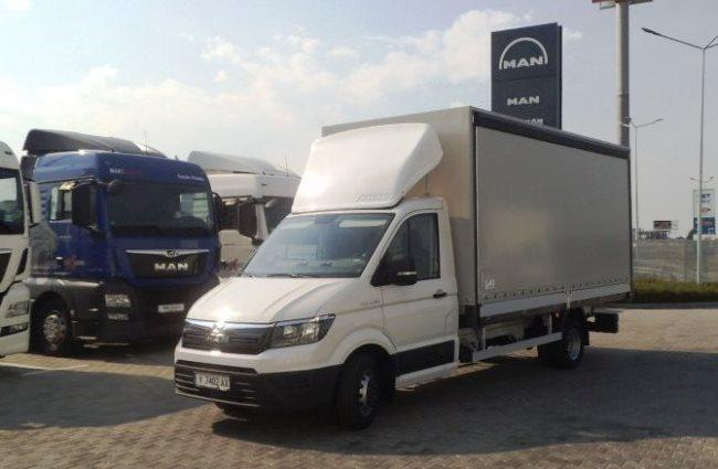Разнообразни варианти на MAN TGE от MVB Truck and Bus Bulgaria