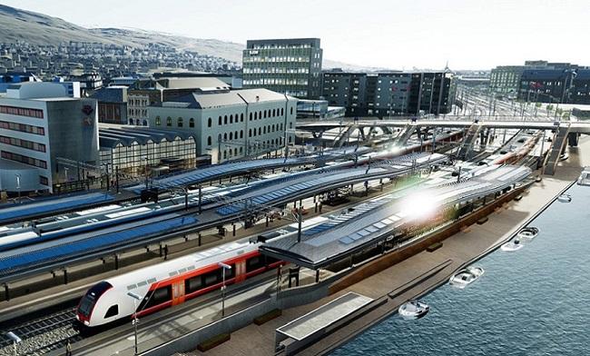 Правят фотоволтаична гара в Норвегия