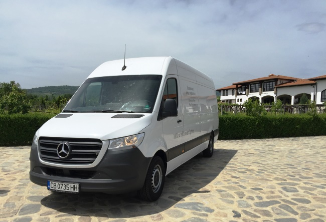 Тест: Mercedes-Benz Sprinter 314 CDI