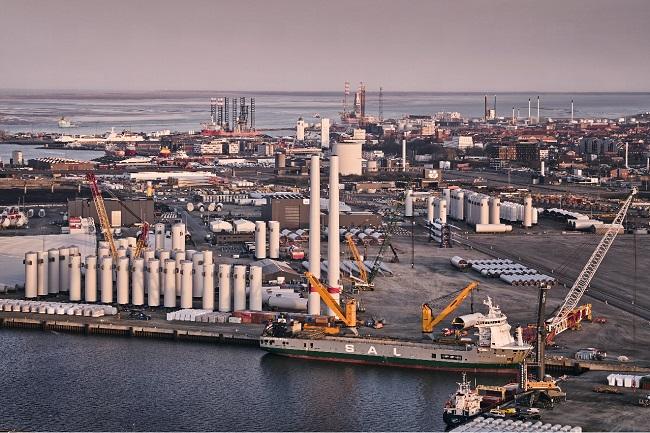 Зелена инвестиция в датско пристанище