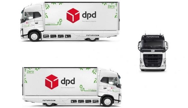 DPD Швейцария се оборудва с електрокамион
