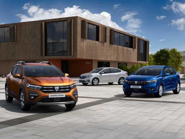 Dacia представя новите Sandero, Sandero Stepway и Logan