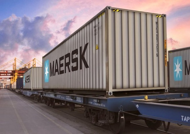 Maersk увеличава интермодалните услуги