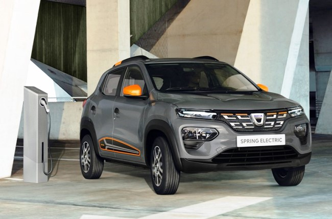 Показаха Dacia Spring Electric