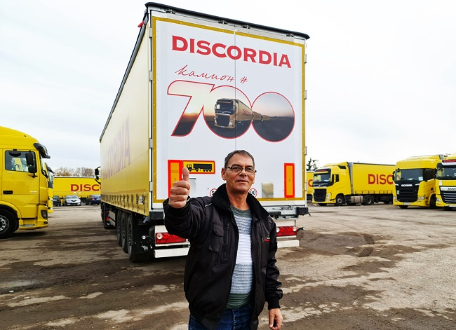 Камион 700 на Дискордиа вече е по пътищата на Европа
